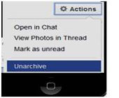 unarchive-facebook-messages