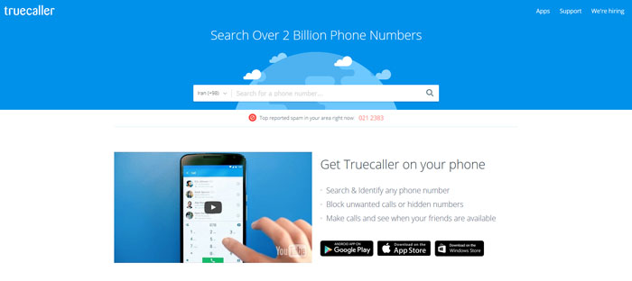 truecaller-website