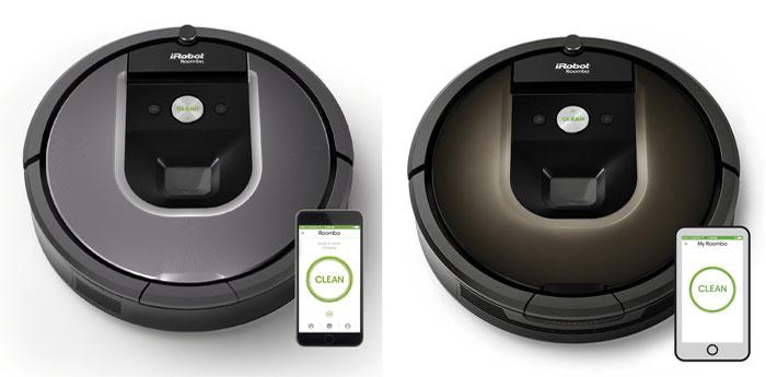 Roomba 960 vs. Roomba 980