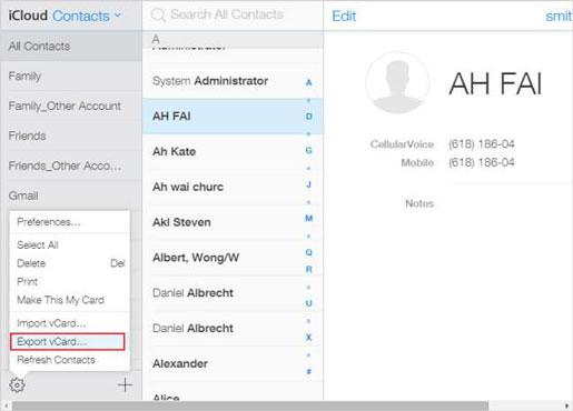 icloud-contacts-export
