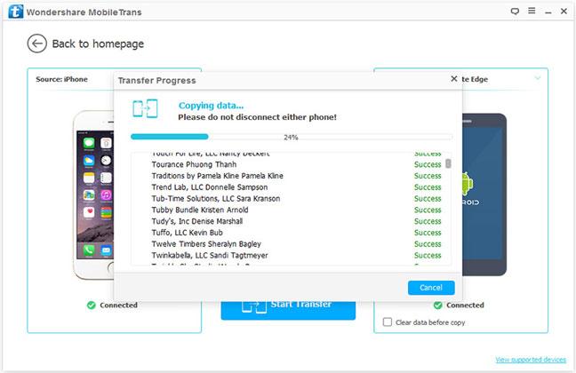 mobiletrans-interface