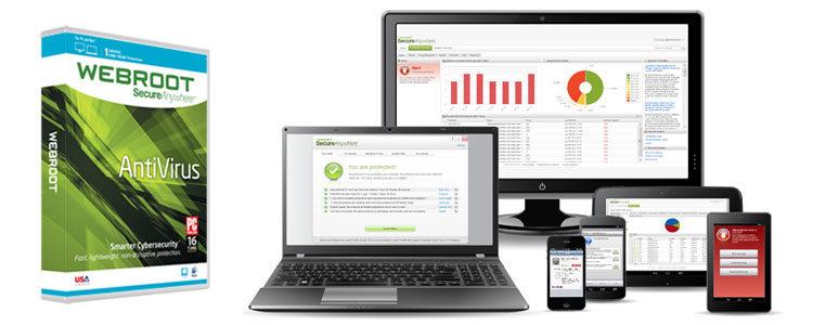 Webroot SecureAnywhere Antivirus Review (PC & Mac)
