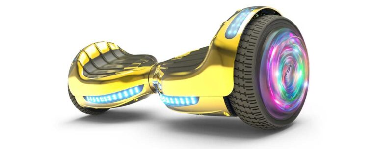 Top 4 Best Gold Hoverboards